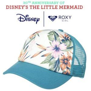 🆕️Roxy Girl Little Mermaid Ocean Town Trucker Hat